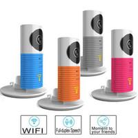 Wholesale Hot Sale Clever Dog Wifi Home Security IP Camera Baby Monitor Intercom Smart Phone Audio Night Vision cam de seguridad P4PM