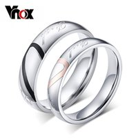 puzzle ring - 10pcs Couple Wedding Rings Love Heart Puzzle Promise Mix Size