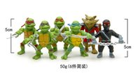 Wholesale Hot sale Teenage Mutant Ninja Turtles TMNT Action Figures Toy Set Classic Collection Toys for Kids