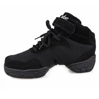 Wholesale New Adult Dance Sneakers Now Fashion Canvas black dance sneakers