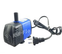 Wholesale Small Submersible Aquarium Water Pump V V HZ for Fish Tank Pond Fountain L H Flow Max With USA Plug