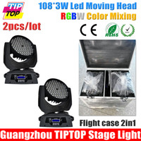 angle flights - Flight Case in1 W Led Moving Head Wash Light DMX DMX Channel Beam Angle Degree Led Moving Head Light RGBW