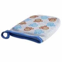 Wholesale PC Baby Kid Infant Cartoon Soft Bathing Bathroom Mitt Glove Foam Rub Shower Sponge Exfoliating Wash Cloth Towel QB674053