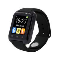 Wholesale Smart watches Bluetooth U8 Smart für android Samsung S4 Note Note HTC xiaomi für Android Handy With box