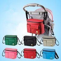 baby carriage baskets - Stroller Accessory Insulation Bag Baby Diaper Bags Organizers Cup Basket Pushchair Travel Carriage Pram By Accessories