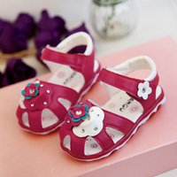 Wholesale summer girl sandals princess shoes baby shoes Top quality Children sandals girl beach shoes years