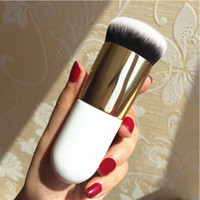 Wholesale New Fashtion Large Round Head Buffer Foundation Powder Makeup Brushes Plump Round Brush Makeup BB Cream Tools