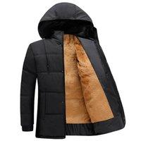 Wholesale Men s cotton men s middle aged men winter coat thicker section warm cotton wool liner Dad