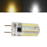 Wholesale New LED lamp G8 SMD3014 W Silica Gel LED led bulb AC110V V V Dimmable led corn bulb Warm white White light