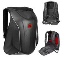 motorcycle hard bags - New uglyBROS MACH6 hard shell bag motorcycle riding backpack shoulder bag waterproof laptop knapsack