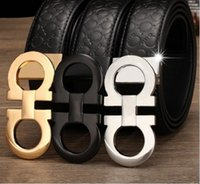 Wholesale Hot mens Brand designer belts luxury genuine leather belts for men metal buckle male cow leather belt new fashion hot Belt for women