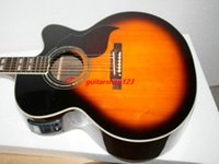 Wholesale Custom Acoustic Electric Guitar in Sunburst Classic Acoustic guitar Electric acoustic guitar Best from china