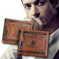 Wholesale Creative New Men Wallets Dollar Bill Money Wallet Man Cowboy Men s Wallets With Card Holder EL047