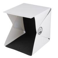Wholesale New Portable Mini Photo Studio Box Photography Backdrop built in Light Photo Box cm x cm x cm