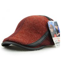 Wholesale Yang Crown Cap Knitting Wool hat Outdoor Men Fashion New Products in Europe Middle Aged Elderly Benn Cap MZN5