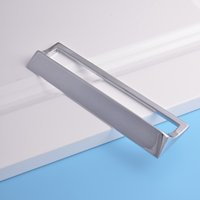 bathroom cabinet styles - factory directly sale aluminum alloy Kitchen Drawer Handle modern style Cabinet Wardrobe Holder bathroom pull Home Furniture Hardware Handle