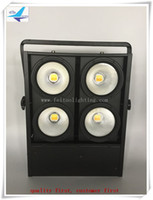 audience lights - 4 Eye W Warm Cool White IN1 COB LED Audience Blinder Stage Light