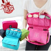 Wholesale Useful New Fashion Underwear Bra Organizers Cosmetics Bags Travel Business Trip Accessories Luggage Waterproof Suitcase
