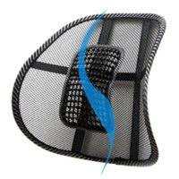 armrest cushion office chair - R1B1 Mesh Lumbar Back Brace Support Office Home Car Seat Chair Cushion cushion armrest