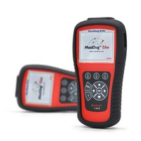 advanced automotive - Genuine Autel MaxiDiag Elite MD802 for All System Diagnostic Tools Advance Graphing OBDII Scan Code Clearing Tools