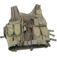 best tactical vests - Durable Best Nylon Anti cut amp Wear resistant Army Military Tactical Vest Waistcoat for Outdoor Use oud7110
