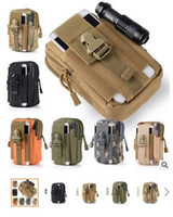 Wholesale Tactical Military Outdoor Molle Waist Bag Utility Pouch Phone Case Men s Sport Casual Waist Pack Purse Camping Hunting Bags