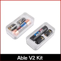 Wholesale Newest Able Mod Kit Clone Able V2 kit with Able Mod AV Torpedo Cap Combo RDA Limited Edition Fit Battery freeshipping