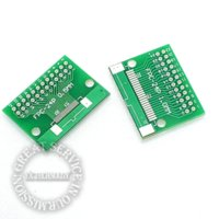 Wholesale 10pcs bag mm FPC PIN turn mm DIP adapter board mm Thick TFT LCD socket