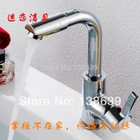 bathroom sink faucets discount - new luxury chromed bathroom sink mixer faucet single handle brass basin mixer tap faucet discount product