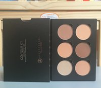 acne kits - 2016 NEW arrival high quality makeup contour kit colors eyeshadow palette Bronzers Highlighters DHL