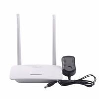 Bon Marché Répéteur sans fil à la maison-PIXLINK Routeur sans fil WIFI WI-FI Extension de répéteur Réseau domestique 802.11 b / g / n RJ45 5 ports Wilreless-N 300Mbps LV-WR07