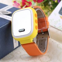 baby gps tracking device - SW50 GPS WIFI Smart Intelligent Kids Watch Muti Functional Tracking Device Yellow Wristwatch for Children Baby Student High Quality