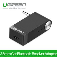 Wholesale Ugreen mm Bluetooth Audio Receiver Universal Car Speaker Music Receiver Adapter with Microphone for Headphone iPhone Macbook