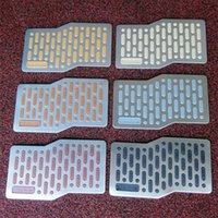 Wholesale Replacement Parts Pedals Stainless steel pedal car brake clutch pedal stainless steel pedal steel v block