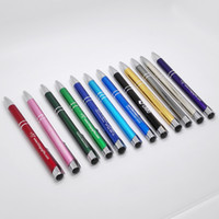 Wholesale HOT Personalised wedding gifts Unique metal pen promotional products laser engraving metal pen with logo pc a