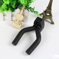Wholesale New Guitar Wall Hanger Holder Stand Rack Hook for all guitar Mounting screws