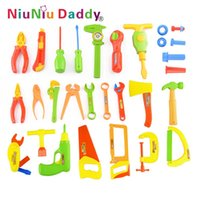 Wholesale 34pcs set Baby Early Learning Education Children toys baby repair tools Toy Pretend Play Play House Toys