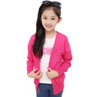 Wholesale New summer cotton casual boys and girls cardigan and coat