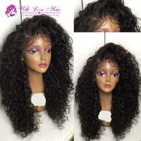 afro wigs - Top Cheap Synthetic Wig Heat Resistant Afro Kinky Curly Synthetic Lace Front Wig epacket