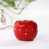 Wholesale Red Tomato Chef Vegtable Novelty Timer Kitchen Cooking Ring Alarm