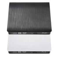 bd rom drive - High Quality Portable Slim USB BD ROM External Optical Drive D Blu Ray Burner Writer Player VCD CD DVD ROM Optical Bay