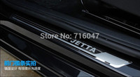 Wholesale Jetta High quality stainless steel Silm Scuff Plate Door Sill hgy