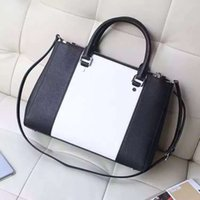Wholesale Large Tote Patterns - Luxury handbags Classic cross pattern Handbag the original leather production leather handbags with advanced metal leather Ms.