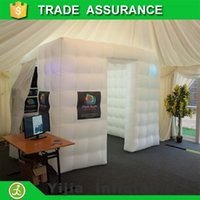kiosk - portable cube tent lighted kiosk shell inflatable booth