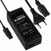 Wholesale AC power supply adapter for Nintendo gamecube NGC wall power cord EU plug