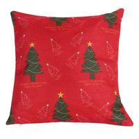 Wholesale Christmas Cushion Covers Home Sofa Decorative Linen Pillow Cases Square
