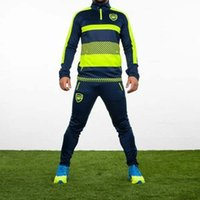 arsenal sportswear - 2016 shall Arsenal Training Wear Jogging leisure soccer sportswear brand workout clothes