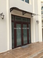 Wholesale DS120200 P x200cm Depth cm Width cm Easy To Install Door Canopy Awning Plastic Door Canopy Awning