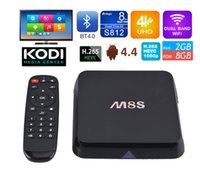 Cheap Quad Core M8S 4K Smart Android TV Box Best Included 1920*1080 Full HD Amlogic S812 Quad Core 2GB RAM DDR3 8GB