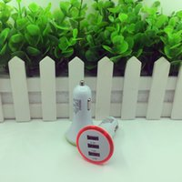 Cheap free shipping 3Usb Port Car Charger Usb Battery Charger Usb Car Charger 5.2A 5000mAh For Cellphone Universal Mobile Phone & Tablet PC Pad Ce